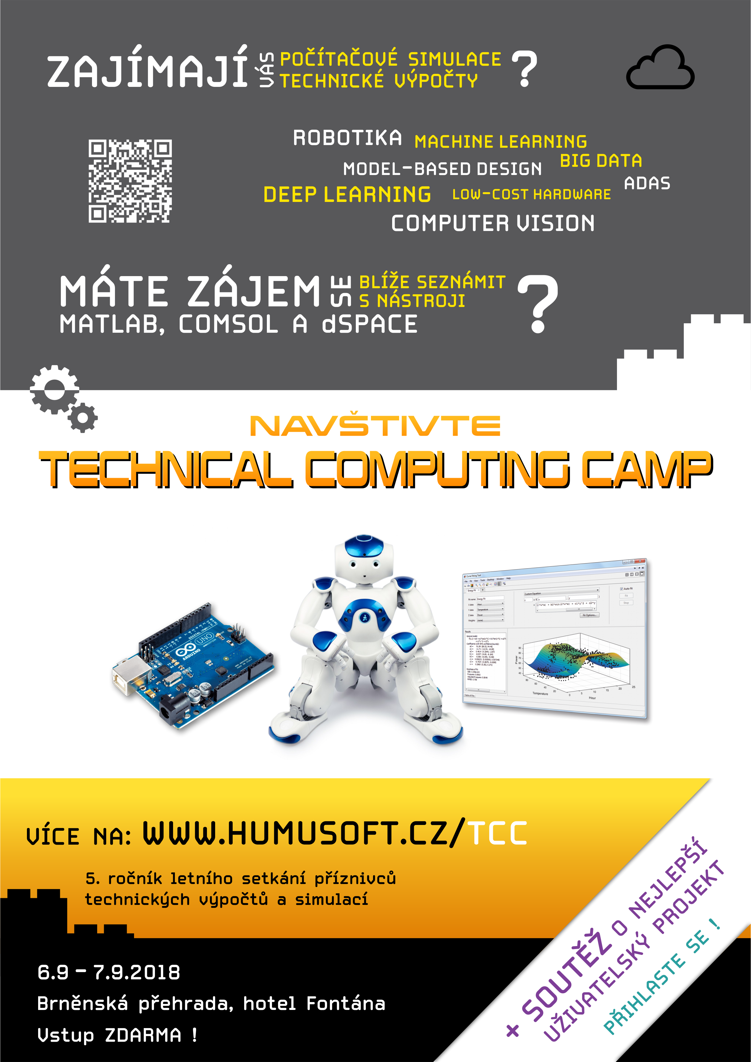 Pozvánka na Technical Computing Camp 2018
